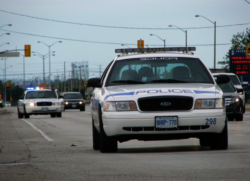 Canadian police cars