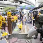 Canine police at Erawan Shrine in Bangkok