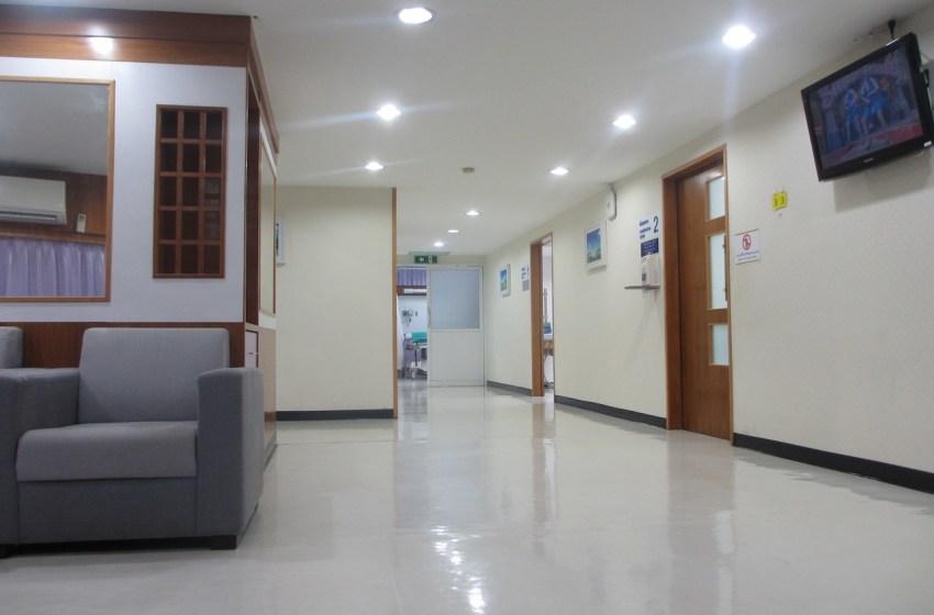 Chiang Mai Ram hospital waiting room