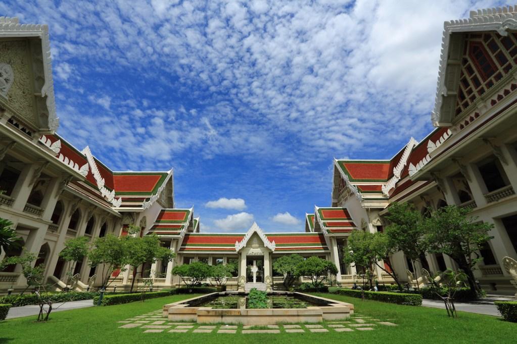 View of Chulalongkorn University