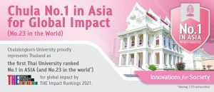 Chulalongkorn University No. 1 in Asia