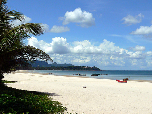 Thung Wua Laen Beach in Chumphon