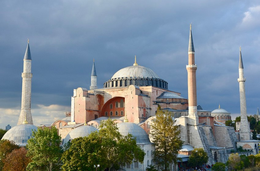 Hagia Sophia Orthodox Cathedral in Istanbul, Turkey