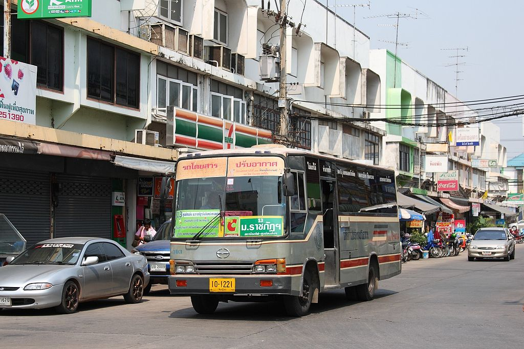 Hino city bus in Phitsanulok