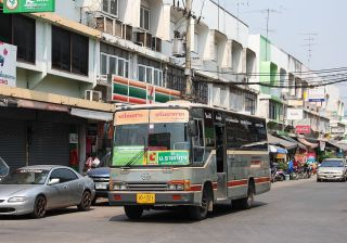Hino city bus in Phitsanulok