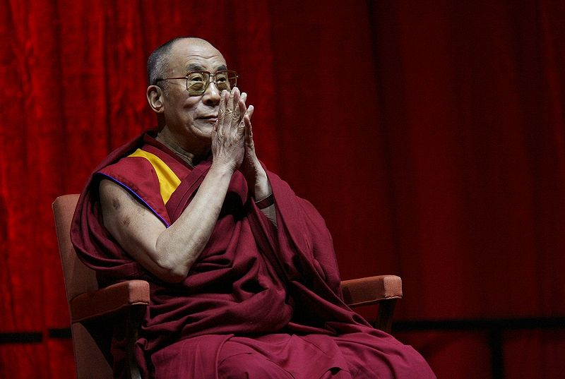The 14th Dalai Lama in Belgium