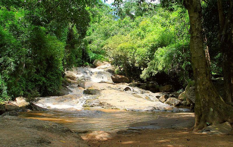 Mae Sa Waterfall in Doi Suthep National park