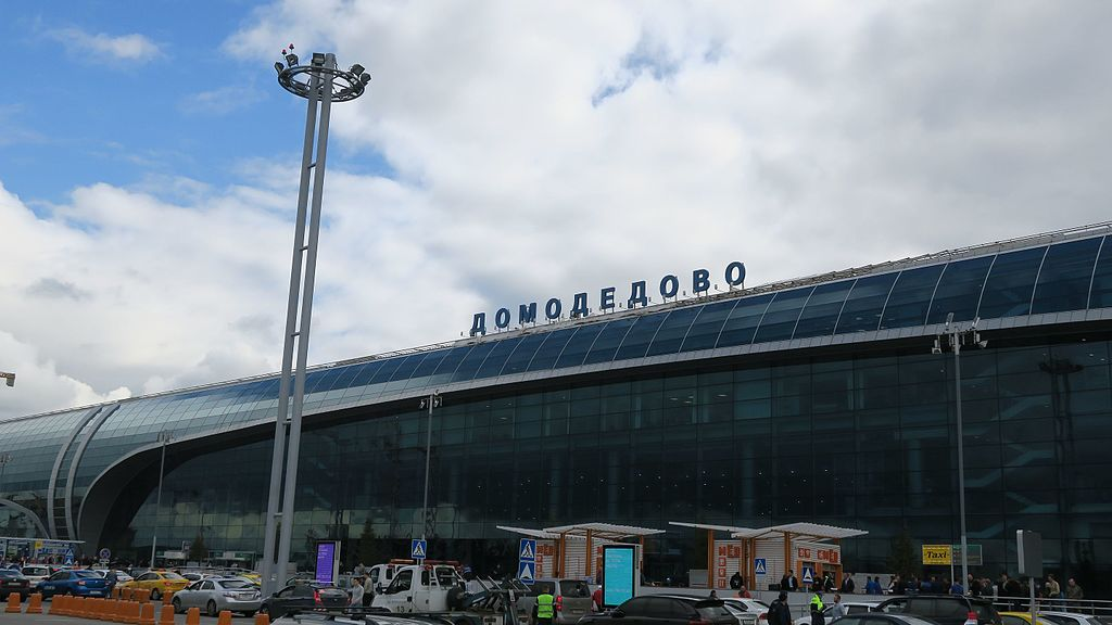 Domodedovo International Airport in Moscow