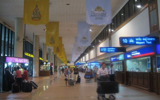 Don Muang Airport arrival hall