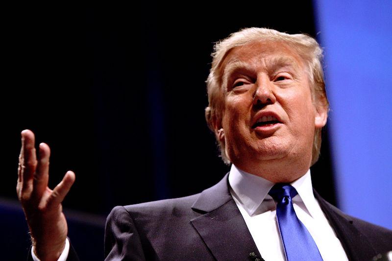 Donald Trump speaking at CPAC 2011