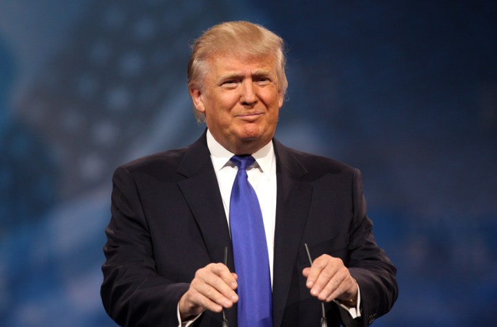 Donald Trump speaking at the 2013 Conservative Political Action Conference