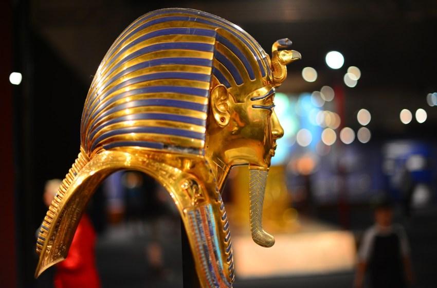 Pharaoh Tutankhamun of Egypt