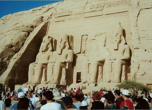 Abu Simbel the Temple of Ramesses II in Egypt