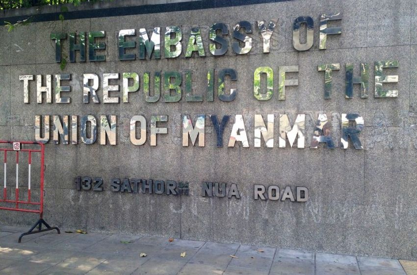 Explosions near Myanmar Embassy Came from Firecrackers