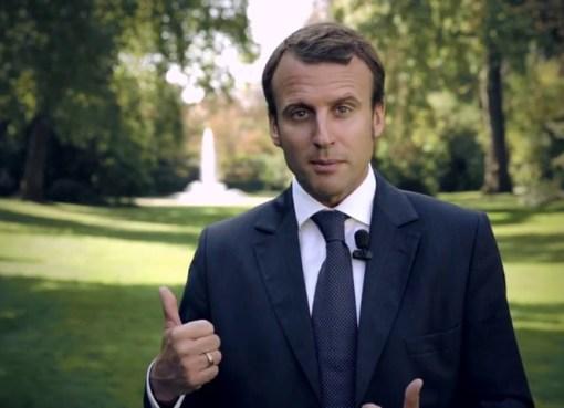 Emmanuel Macron in 2014