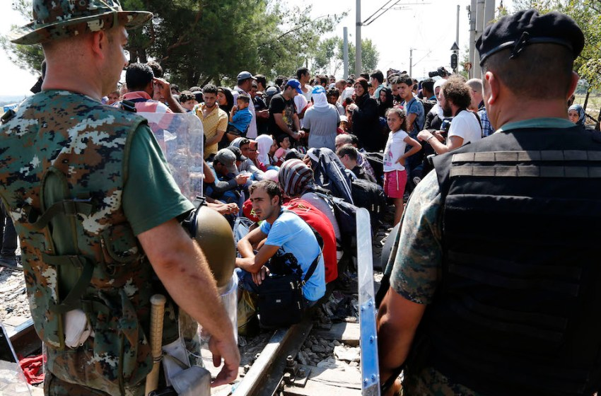 Greek islands overflowing with migrants amid EU fears Turkey will abandon refugee deal
