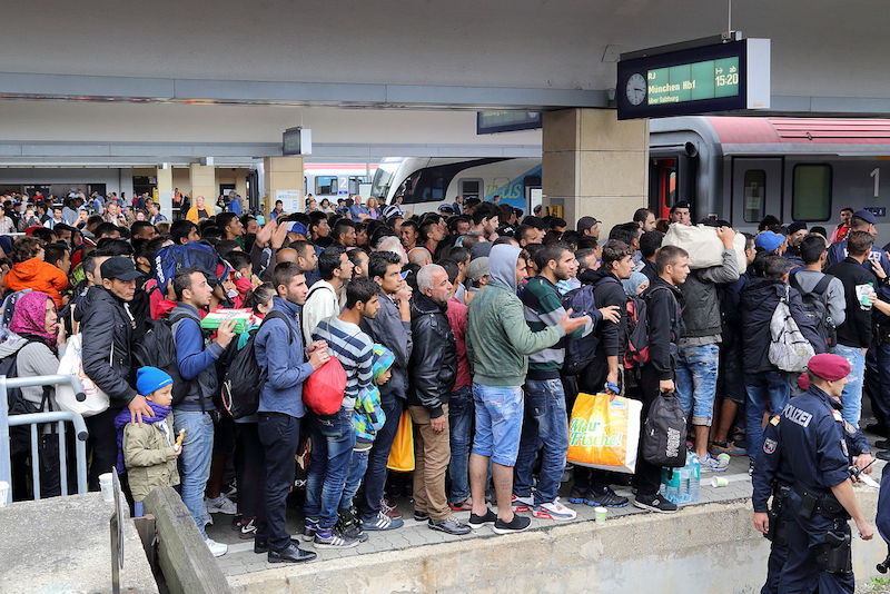 Mass Brawl Between Refugees in Registry Center in Germany
