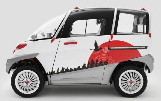 FOMM electric car