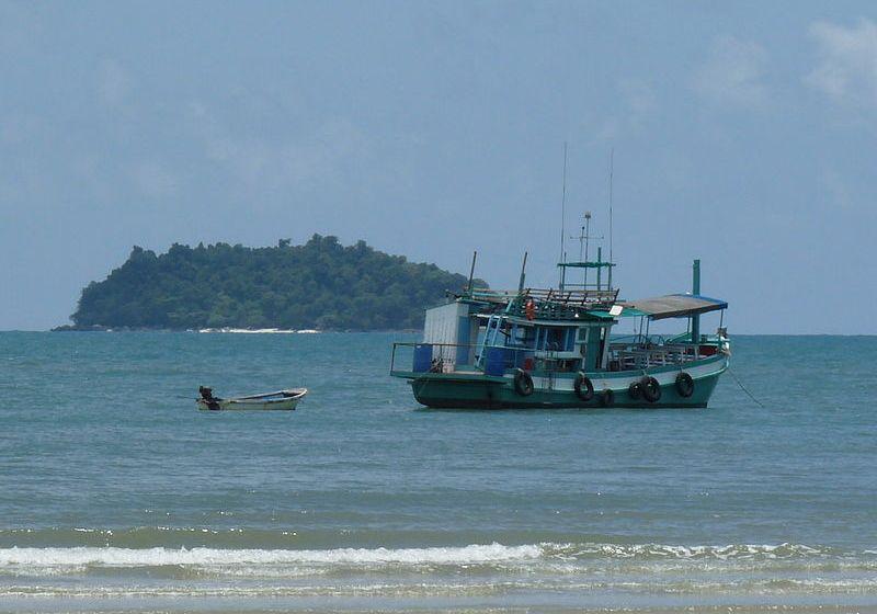 Boat in Khlong Phrao, Chumphon