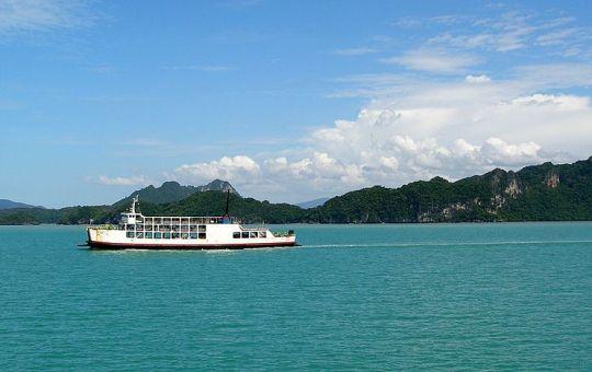 Ferry to Koh Samui
