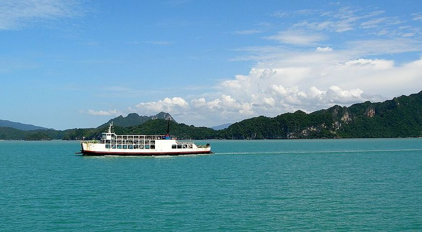 Ferry capsizes off Koh Samui Island, 7 missing