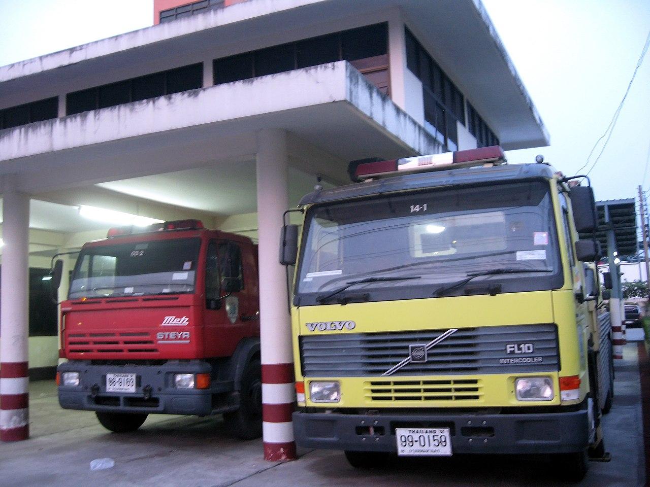 Fire breaks out at state quarantine hotel in Samut Prakan last night