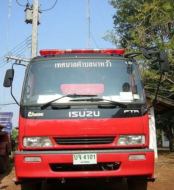 Isuzu Fire Engine in Thailand