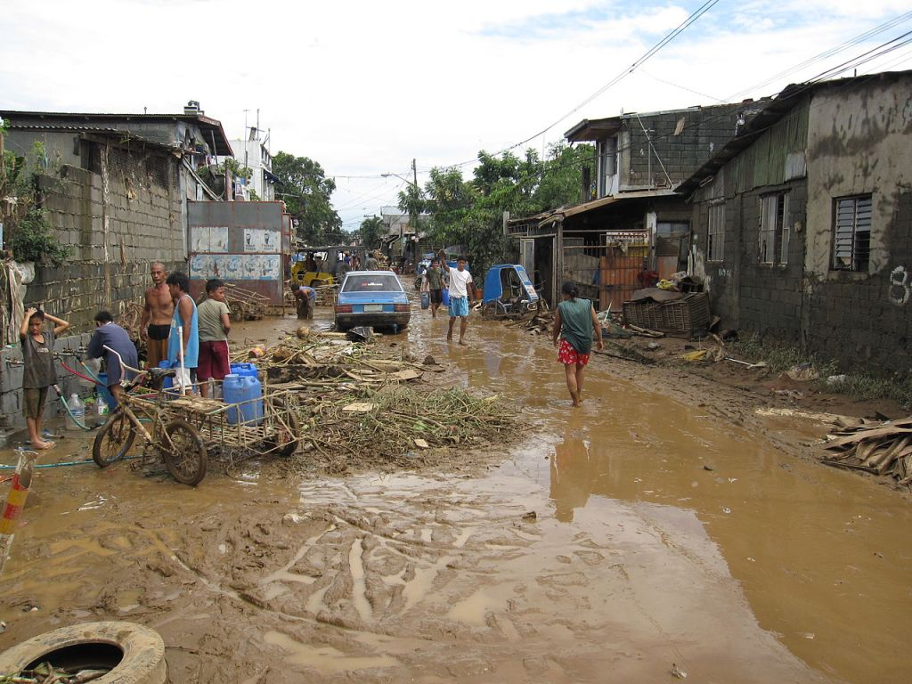 Flooding from Typhoon Ondoy (Ketsana), Philippines 2009