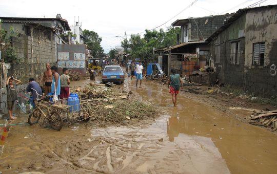 Flooding from Typhoon Ondoy (Ketsana), Philippines 2009