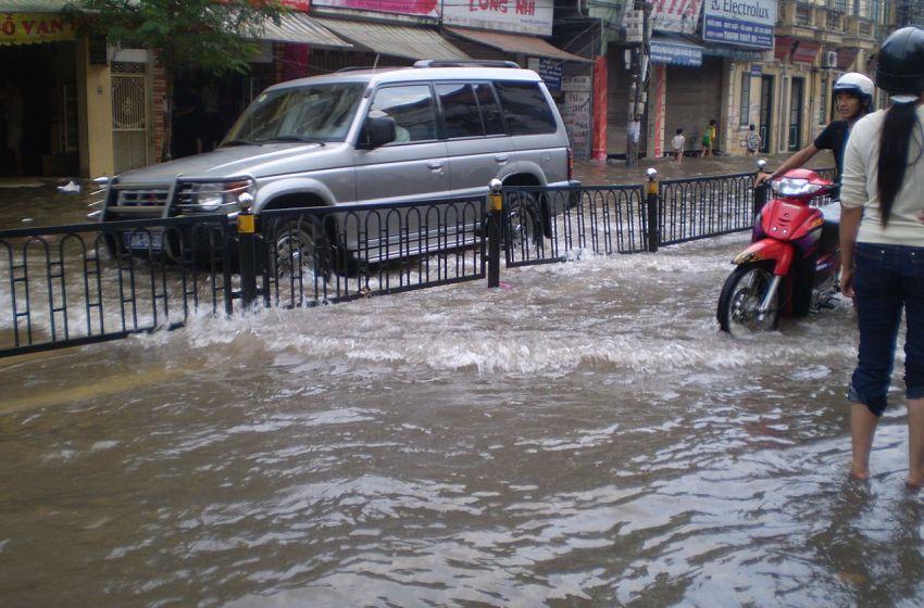 Floods in Hanoi Vietnam