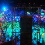 Full Moon Party at Haad Rin Sunrise Beach in Koh Phangan
