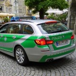 German police BMW car