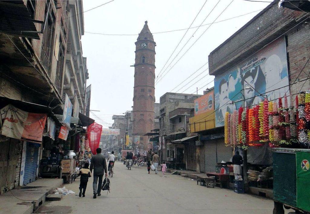 Ghanta Ghar in Gujranwala, Pakistan