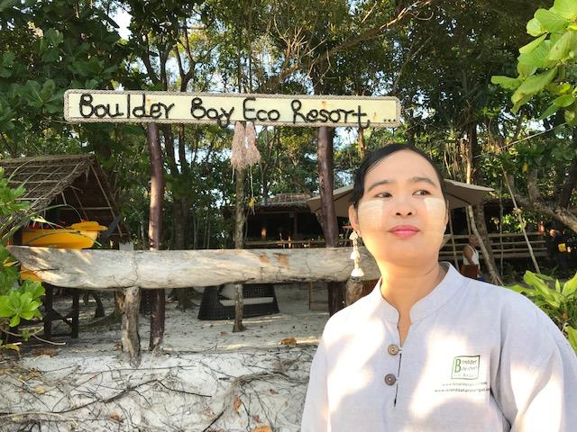 Staff at Boulder Bay Eco Resort