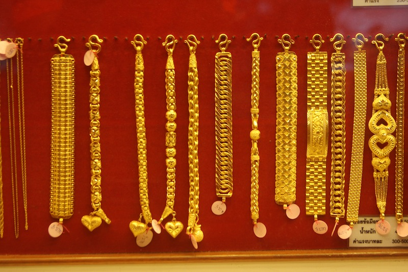 Thai Gold Bracelets and chains