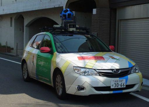 Google Street View Car in Tokyo