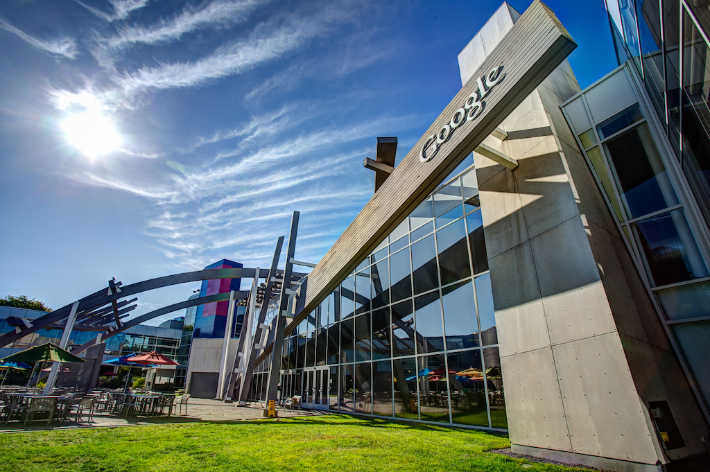 Google HQ aka Googleplex, in Mountain View, California