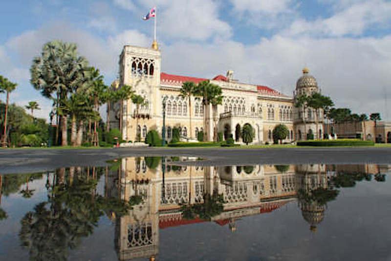 Thai Ku Fa, the Government House of Thailand
