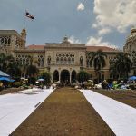 The Government House of Thailand seized by PAD members
