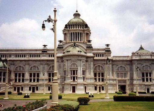 The Ananta Samakhom Throne Hall in Dusit Palace in, Bangkok