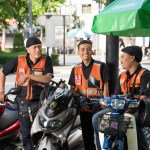 Grab launched GrabBike (Win) in Bangkok