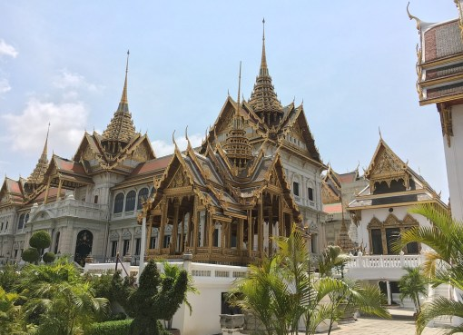 The Grand Palace complex in Bangkok