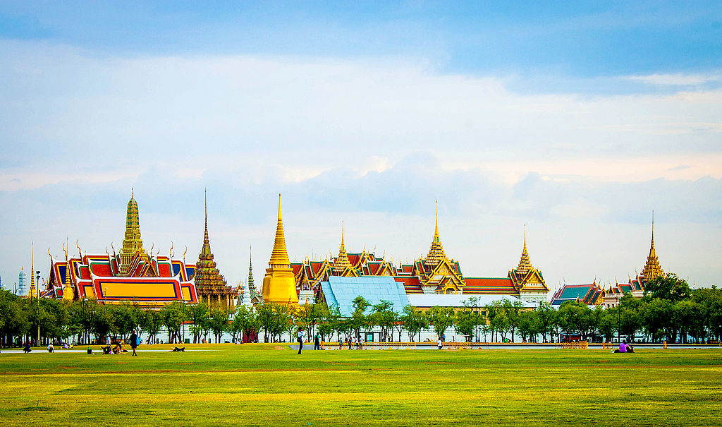 The Grand Palace and Sanam Luang