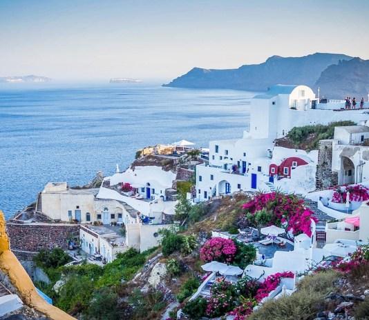 A village in Greece