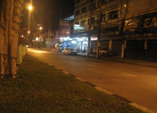 A street in Hat Yai, Songkhla