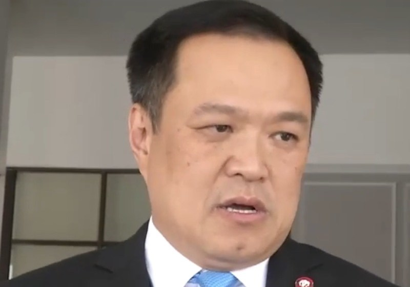 Thai Health Minister Anutin Charnvirakul in 2019