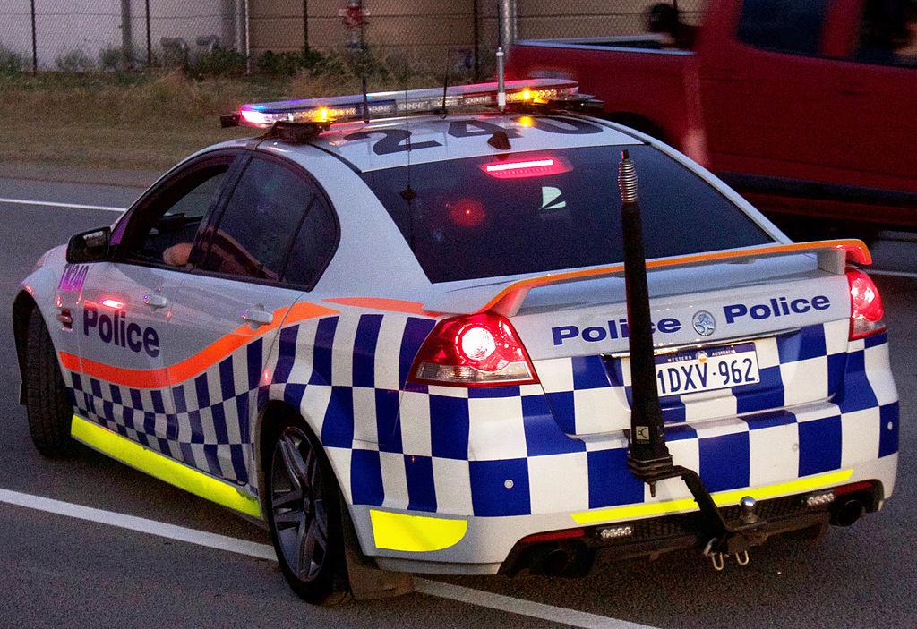 Australian Police car Holden Commodore SV6