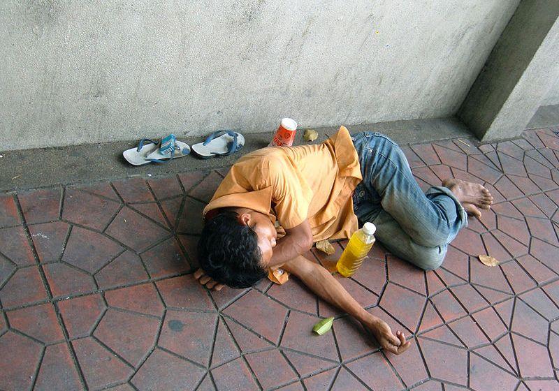 Homeless man wanted for setting fire to Thai-Belgian Bridge