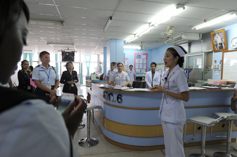 Thailand - Members of the military nursing community in the Pacific region