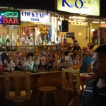 Hua Hin night market bar